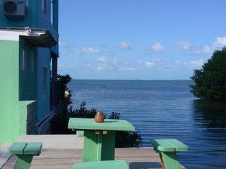 See Belize SEAVIEW Studio with INFINITY POOL, Overwater & Poolside Decks