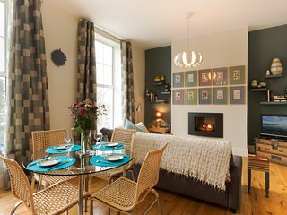 Snuggle Up by the Sleek Fire at a Period Canalside Retreat