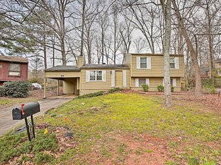NEW! Quiet & Convenient Home; 6 Mi to Stone Mtn!