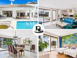 Luxury Villa With 5 Bedrooms, Close To Puerto Banus (7) ✔
