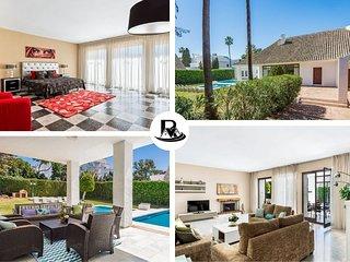 Beautiful Villa In Puerto Banús With 5 Bedrooms, Marbella (15) ✔