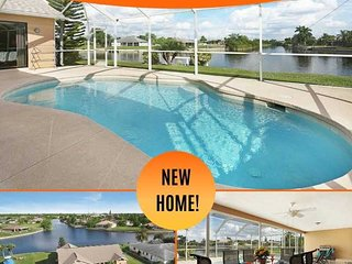 14% OFF! - SWFL Rentals - Villa Sunny Dream - Prime Location Intersecting Canal
