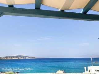 Idyllic, perfectly positioned Aegean island beach house 10m above the beach ...