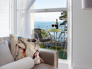 ***Stunning Beach front apartment, sleeps 5, own balcony***