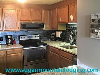 Sugar Top 2217, 2nd floor ski views. Rented by Sugar Mountain Lodging Inc.