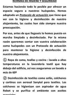 Normas de higiene y desinfección (1)