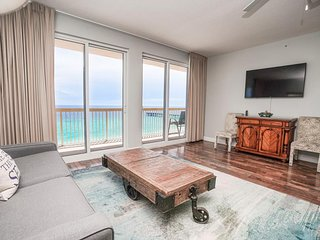 Calypso Beach Resort 1001W | Walk to Pier Park | Beachfront Condo