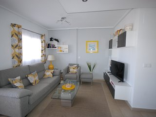 Stylish and comfortable poolside apartment with fabulous views and sunsets