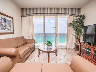 Calypso Resort & Towers 1108W - Sleeps 9 | Walk to Pier Park | Beachfront Condo!