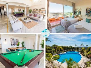 Heated Pool, Jacuzzi, BBQ & Penthouse With Seaview ✔