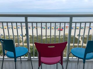 Oceanfront condo at Camelot by the Sea (Myrtle Beach)