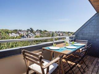 LE HYGGE - Bel apt avec terrasse, 150 m de la plage