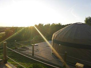 Orchard View Yurt just outside Looe (Sleeps 4)