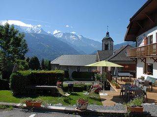 appartement au calme face au Mont-Blanc