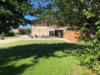Le Grand Charme-Grande maison de Vacances, Jusqu'a 15P, au Lac du Der (Nouveau!)