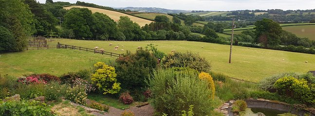Gorgeous Mid Devon countryside Cottage with outstanding views, vakantiewoning in Bampton