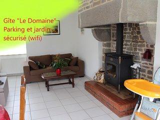 Location de vacances 'Le Domaine' à proximité du Mt St Michel (wifi)