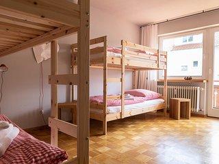 Design Ferienwohnung mit Waschmaschine und GSS 5 min zum See und Badeparadies