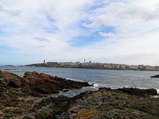 Apartamento vacional en la playa de Riazor en A Coruña-España