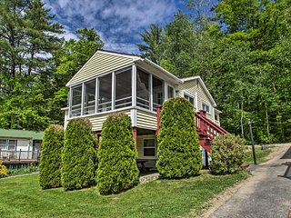 NEW! Homey Laconia Cottage w/Private Porch & Grill
