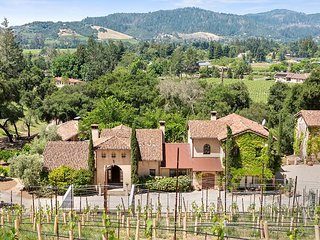 Tuscan in Sonoma | Locanda Estate Villa with Pool & New Home Generator