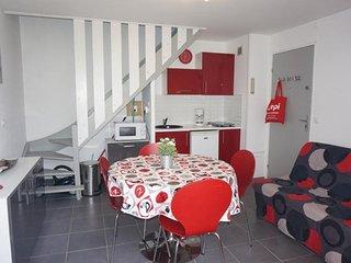 Appartement duplex 4/5 pers dans une residence avec acces plage