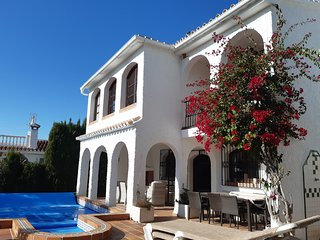 A beautiful villa with the views of the mediterranian sea