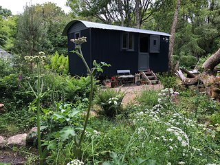 The Shepherds Hut at Crean Mill