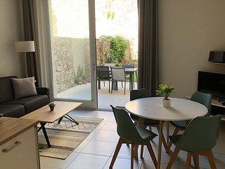 Etoile De Mer - Appartement calme de 45m2 neuf avec Jardin