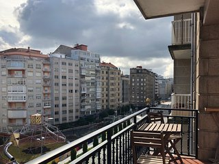 Amplio apartamento proximo a la Gran Via de Vigo