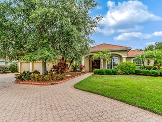New listing! Spacious home w/ lanai, private pool, & shared tennis courts!