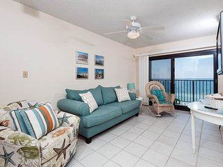 6th Floor Beachy Gulf-Front Condo W/ Gulf-Front Views! Steps To Beach!