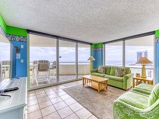 11th Floor Gulf-Front Perdido Sun Condo w/ Indoor & Outdoor Pool