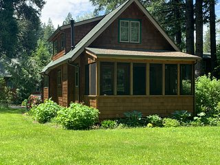 NEW LISTING! Dog-friendly, riverfront cabin w/ a screened-in patio