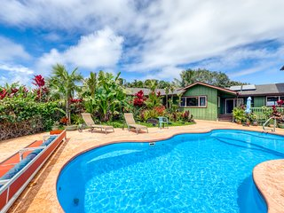 Amazing, three-story home w/ a private pool, ocean view, & lots of space