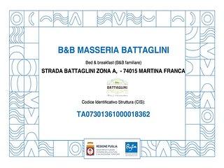 Codice Identificativo Strutture Ufficiali Regione Puglia