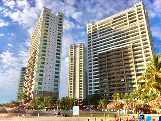 Beachfront condo in middle  of Puerto Vallarta