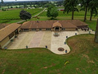 Dundee Wine Country Estate, Single Lvl, Huge Patio, Vineyard Views, Free Tasting