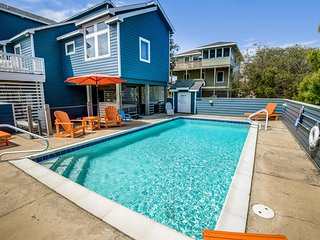 Lattitude Adjustment | 475 ft from the beach | Dog Friendly, Private Pool, Hot T