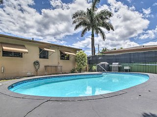 NEW! Hollywood Home w/Pool+Grill: 3Mi to Beaches!