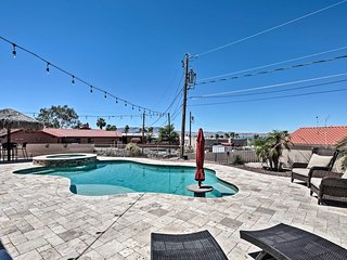 Lake Havasu Home w/Pool, Hot Tub & Lake Views