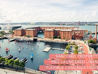 2 mins from Echo Arena & Albert Dock-Free Parking!