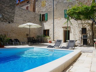 Tradition Istrian house Flavija in Svetvincenat, private pool