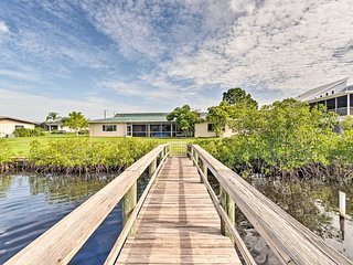 NEW! Peaceful Riverfront Retreat w/ Dock & Yard!