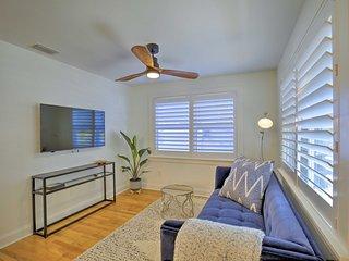 NEW! Stylish Home w/ Deck < 2 Mi to Dwtn & Beach!