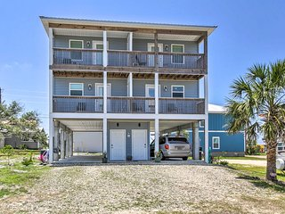 NEW! Mexico Beach Getaway w/Balcony & Ocean Views!