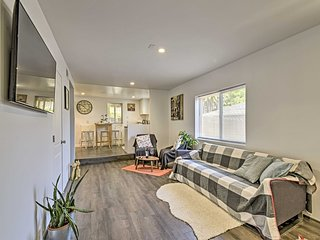 NEW! Modern Apt 8 Miles to Downtown San Francisco!