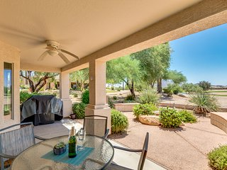 Golf Course & Mountain Views Next To The Solera Chandler Clubhouse!