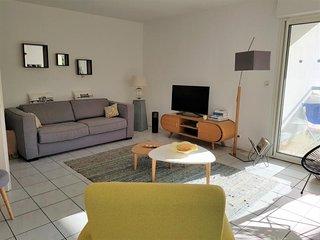 Le Clos des Falaises : appartement cosy avec balcon et parking - 800m des plages