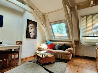 Charming Top-Floor Jordaan Apartment